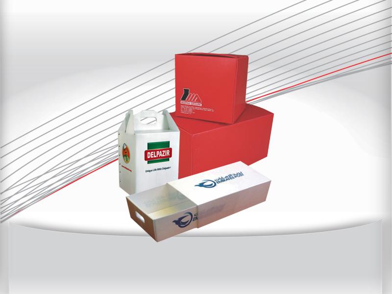 بسته بندی کارتن پلاست , جعبه کارتن پلاست
